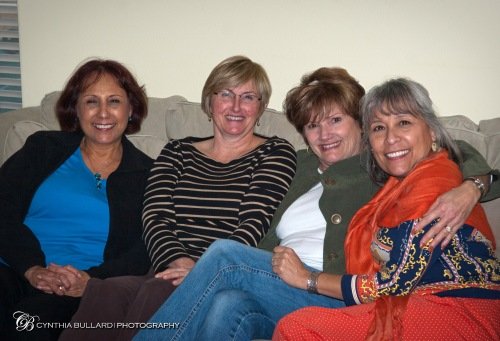 Vivian, Sally, Jeanie and Veronica